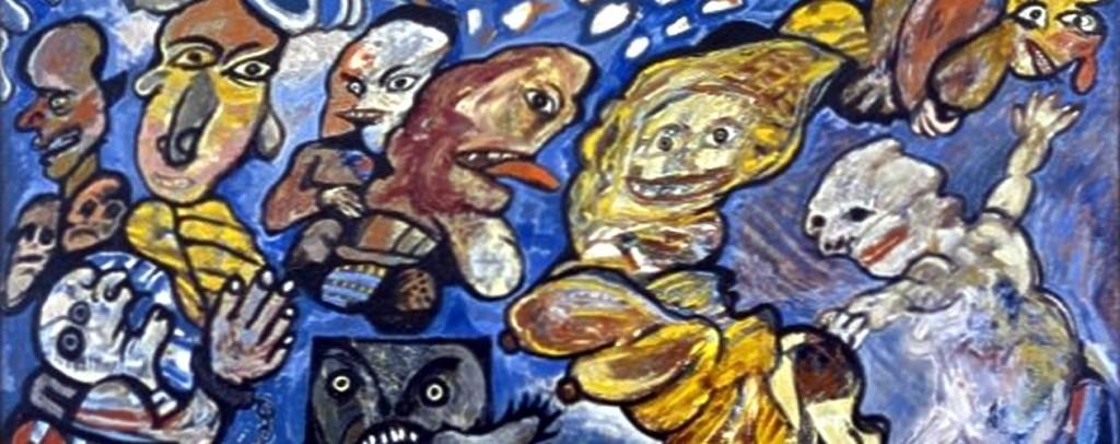 Schilderij Lucebert: de tyranie van de vrijheid