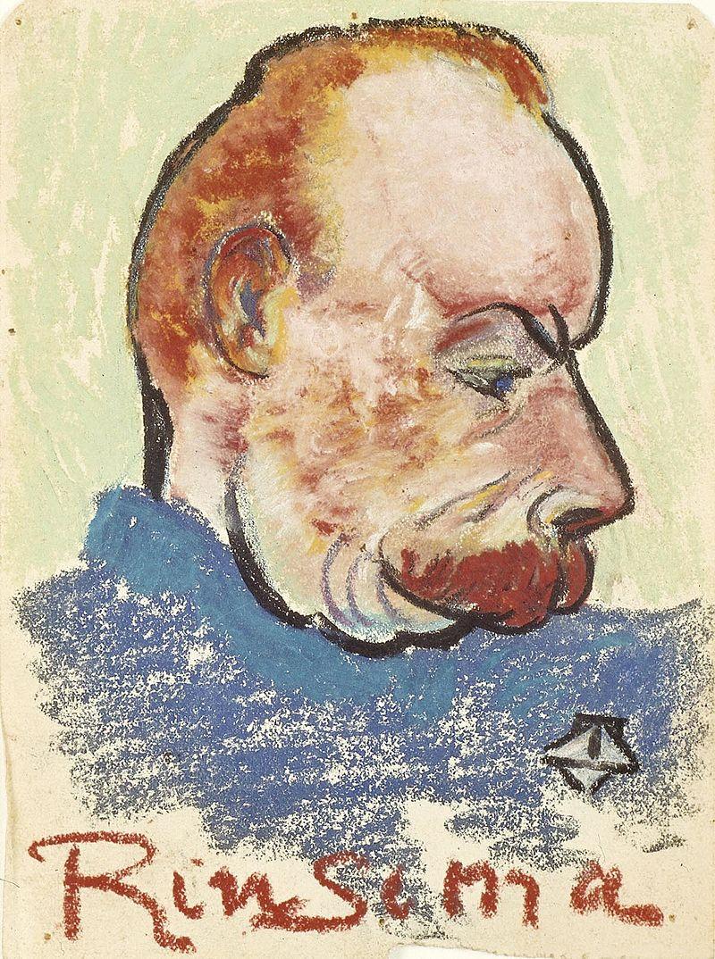 Evert Rinsema, bevreinde met Theo van Doesburg
